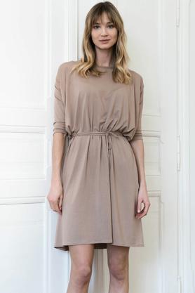 Sukienka No.1 beżowa PROJEKTANT Marita Bobko