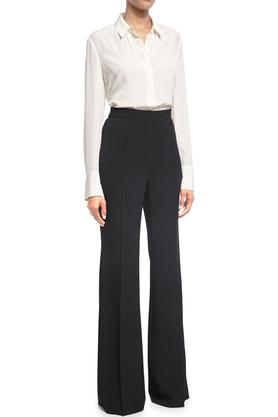 Spodnie poszerzane czarne PROJEKTANT VerityHunt