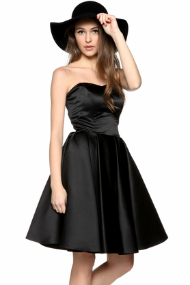 Sukienka gorsetowa Calineczka czarna PROJEKTANT Inspiracja Butik