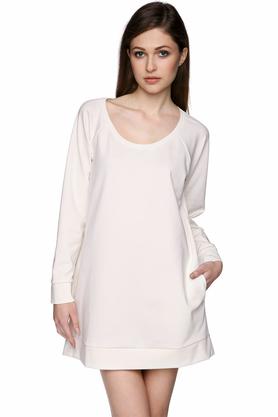 Bluza z kieszeniami ecru PROJEKTANT Yuliya Babich