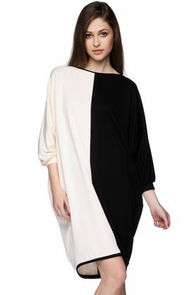 Sukienka geometryczna biało-czarna PROJEKTANT Yuliya Babich
