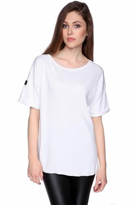 T-shirt biały PROJEKTANT Yuliya Babich
