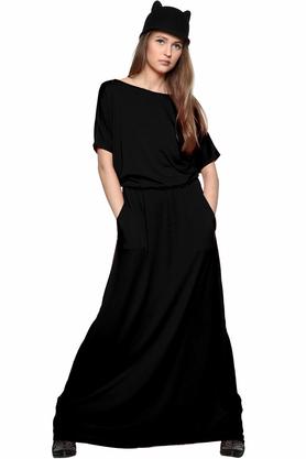 Sukienka maxi czarna PROJEKTANT Kasia Miciak