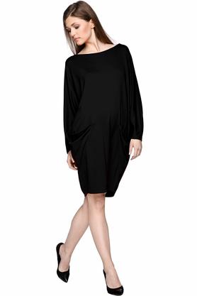 Sukienka z kieszeniami czarna PROJEKTANT Yuliya Babich