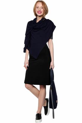 Sukienka z rękawkami czarna PROJEKTANT Yuliya Babich