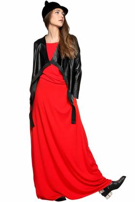 Sukienka maxi czerwona PROJEKTANT Kasia Miciak
