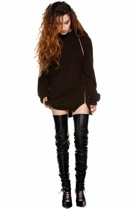 Sweter z suwakami PROJEKTANT Monika Błotnicka