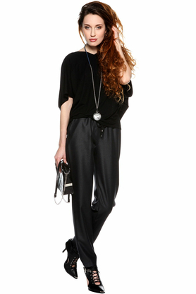 Bluzka nietoperz czarna PROJEKTANT Yuliya Babich