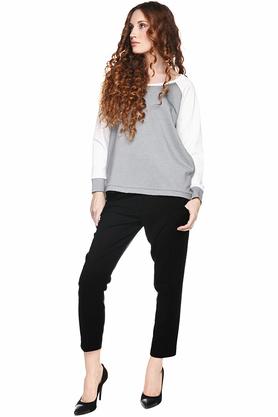 Bluza prosta szaro-biała PROJEKTANT Yuliya Babich