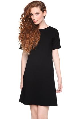 Sukienka prosta czarna PROJEKTANT Yuliya Babich