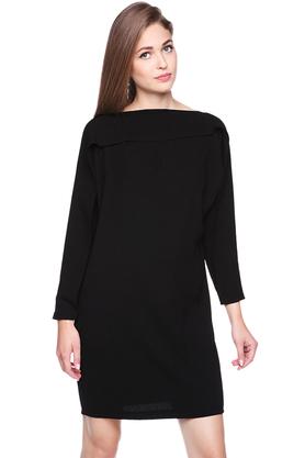 Sukienka Horizontal czarna PROJEKTANT Maria Wiatrowska