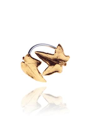Pierścionek Miniature złoty PROJEKTANT Pradelle
