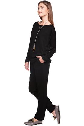 Spodnie luźne czarne PROJEKTANT VerityHunt