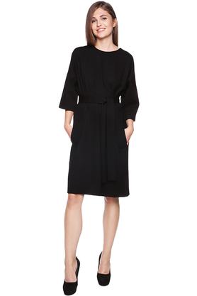Sukienka kimonowa czarna PROJEKTANT VerityHunt