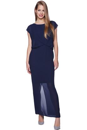 Sukienka maxi V PROJEKTANT Inspiracja Butik