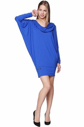 Sukienka woda kobaltowa PROJEKTANT Yuliya Babich