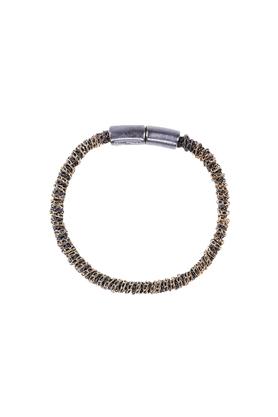Bransoletka wąż srebrno-złota PROJEKTANT FROU-FROU