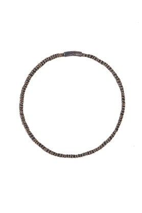 Naszyjnik wąż srebrno-złoty PROJEKTANT FROU-FROU