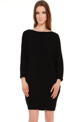 Sukienka luźna czerń PROJEKTANT Yuliya Babich