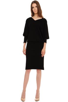 Sukienka nietoperz czarna PROJEKTANT Yuliya Babich
