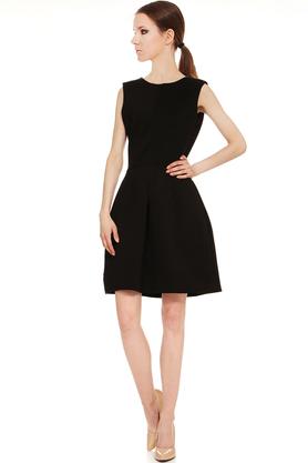 Sukienka klasyczna czarna PROJEKTANT Yuliya Babich