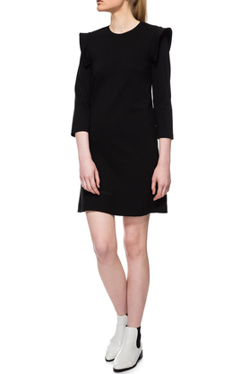 Sukienka ze skrzydełkami czarna PROJEKTANT Yuliya Babich