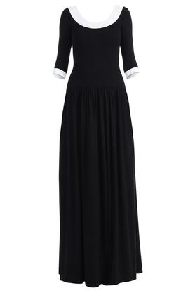 Sukienka długa z dekoltem PROJEKTANT Yuliya Babich