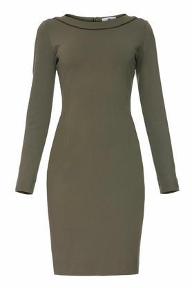 Sukienka ołówkowa khaki PROJEKTANT Yuliya Babich