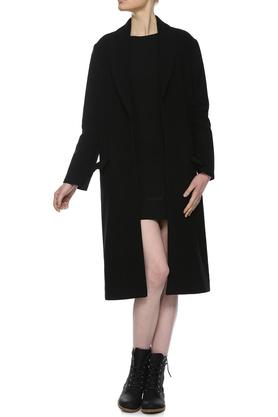 Płaszcz czarny PROJEKTANT Yuliya Babich