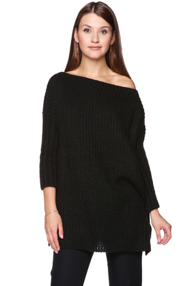 Sweter czarny PROJEKTANT ForHEN
