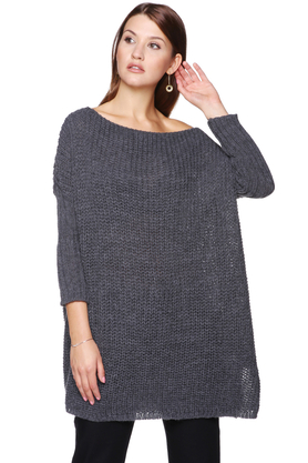 Sweter szary PROJEKTANT ForHEN