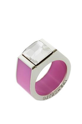 Pierścień Classic różowy PROJEKTANT OSTROWSKI DESIGN