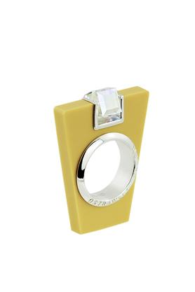 Pierścionek Street Line Diamond żółty PROJEKTANT OSTROWSKI DESIGN