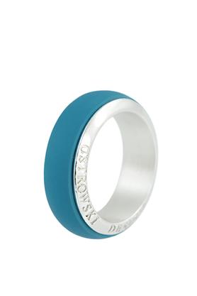 Obrączka Joy Line niebieska PROJEKTANT OSTROWSKI DESIGN