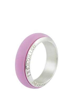Obrączka Joy Line różowa PROJEKTANT OSTROWSKI DESIGN