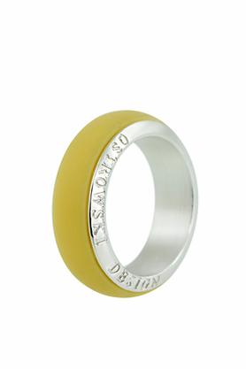 Obrączka Joy Line żółta PROJEKTANT OSTROWSKI DESIGN