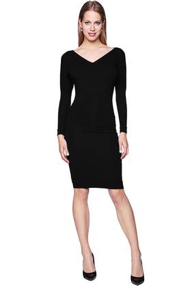 Sukienka ołówkowa czerń PROJEKTANT Yuliya Babich