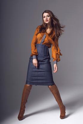 Spódnica Leena jeans PROJEKTANT Kasia Zapała