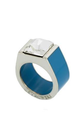 Pierścień Classic niebieski PROJEKTANT OSTROWSKI DESIGN