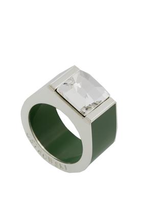 Pierścień Classic zielony PROJEKTANT OSTROWSKI DESIGN