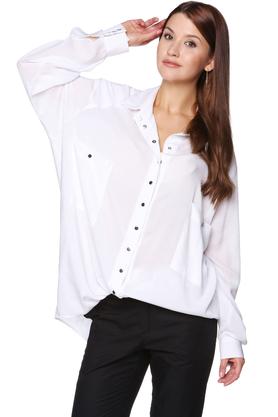 Koszula oversize biała PROJEKTANT VerityHunt