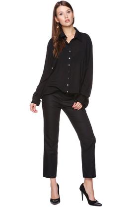 Koszula oversize czarna PROJEKTANT VerityHunt