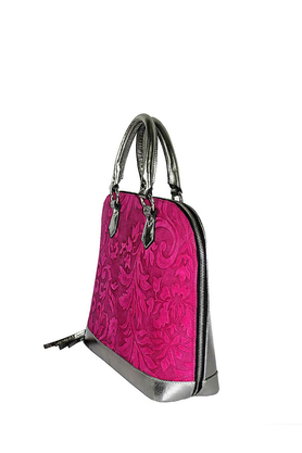 Kufer Pink Silver Baroque PROJEKTANT Joanna Kruczek