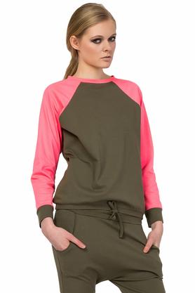 Bluza khaki PROJEKTANT Yuliya Babich