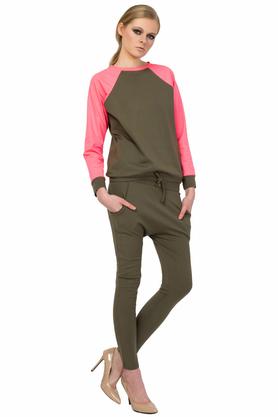 Spodnie khaki PROJEKTANT Yuliya Babich