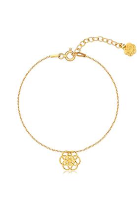 Bransoletka Kwiat Życia złota PROJEKTANT La Tienne