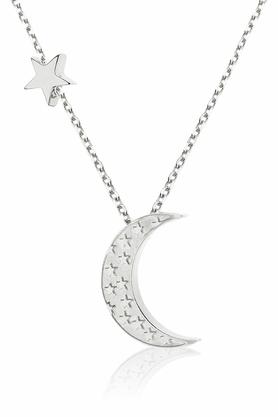 Naszyjnik Księżyc z Gwiazdką srebrny PROJEKTANT La Tienne