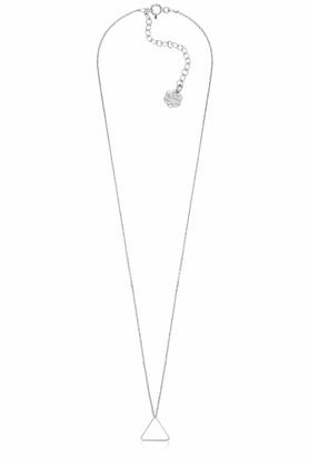 Naszyjnik Trójkąt mini srebrny PROJEKTANT La Tienne
