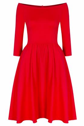 Sukienka hiszpanka czerwona PROJEKTANT Kasia Miciak