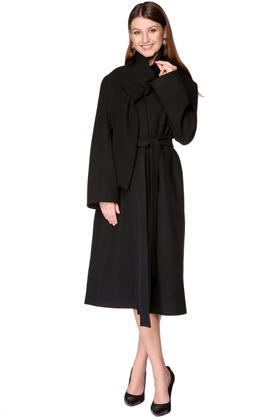 Płaszcz wełniany czarny PROJEKTANT VerityHunt